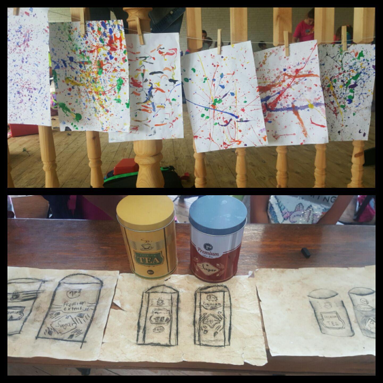 Arts & Crafts at the Homework Hub