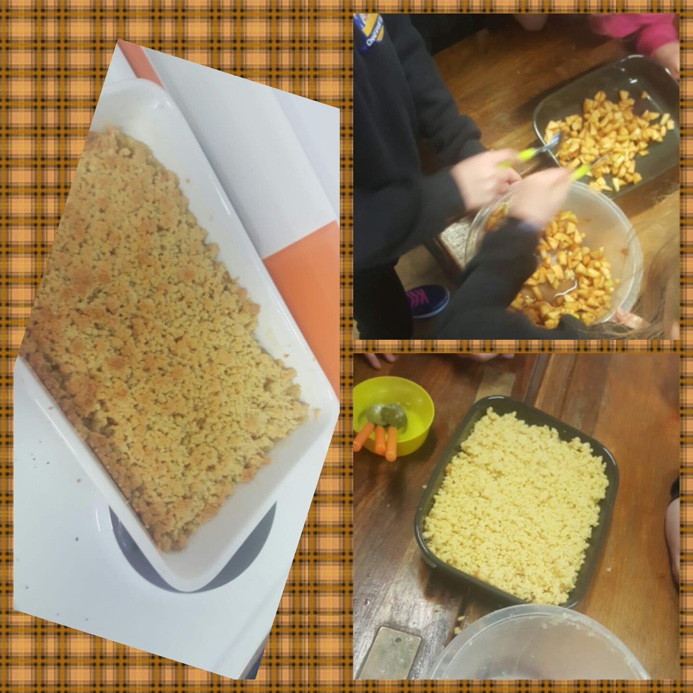 Baking at the Homework Hub