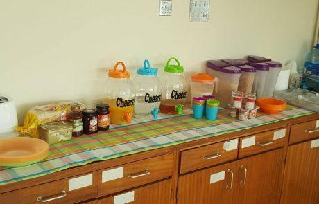 Meals & Snacks at the Homework Hub